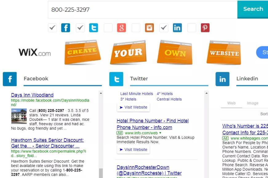 Google社交搜索输入800