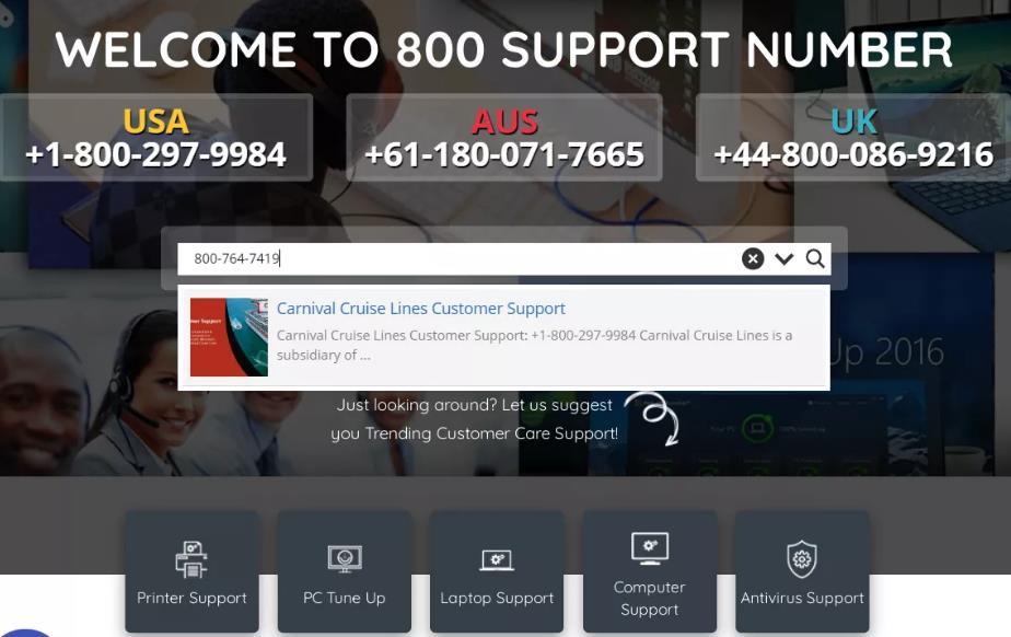 800customercarenumber.com结果为800反向搜索