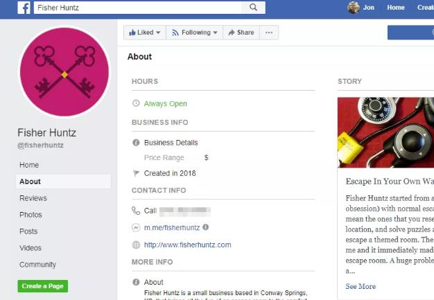 Facebook phone number list