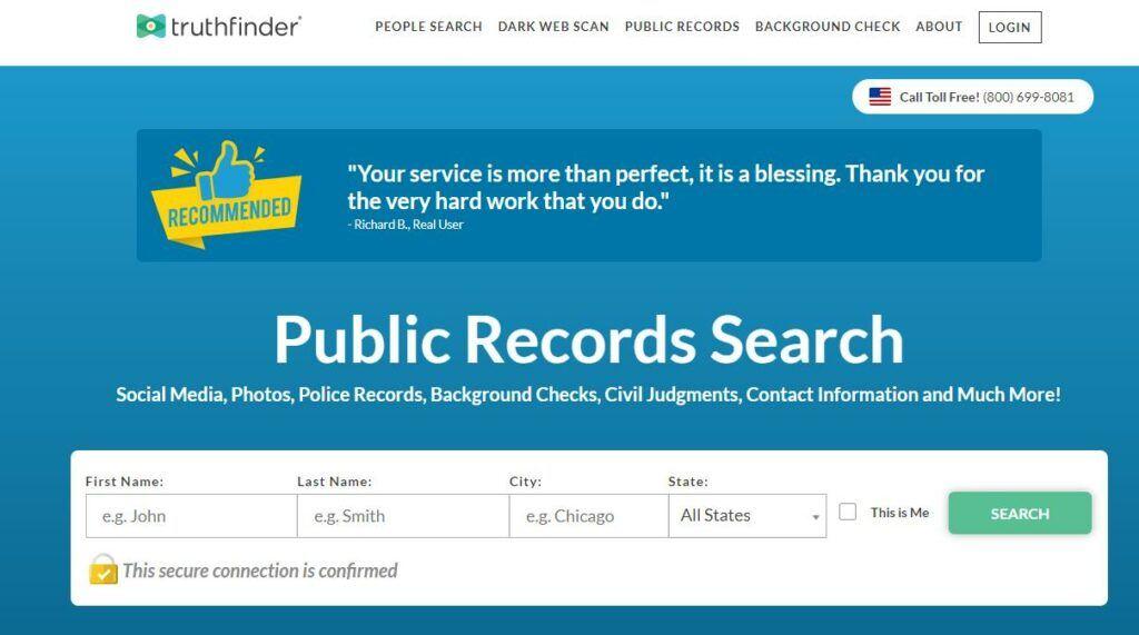 最好的人肉搜索网站-TruthFinder