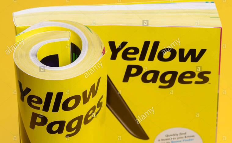 如何使用黄页在网上找人