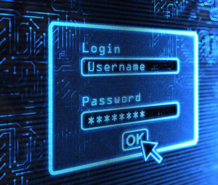 登录名和密码提示图