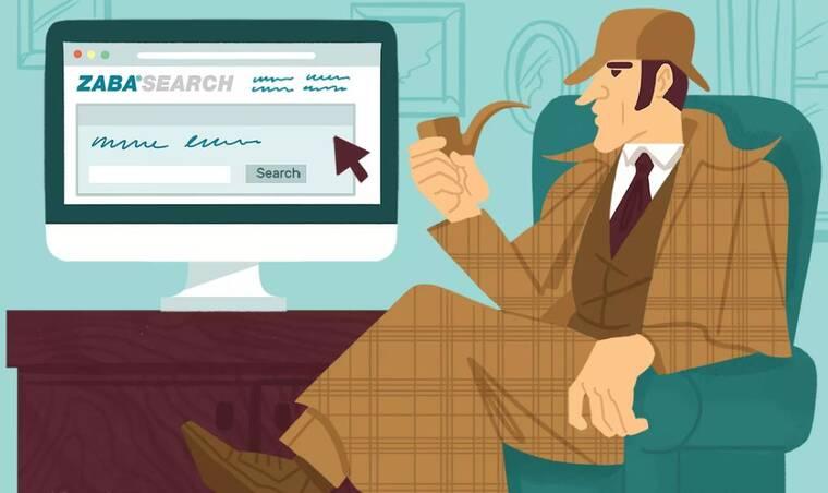 看ZabaSearch的Sherlock Homes的插图