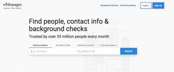 如何使用 Whitepages 通过手机号码查找某人的位置