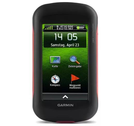 最佳挥霍GPS 追踪器:Garmin Montana 680
