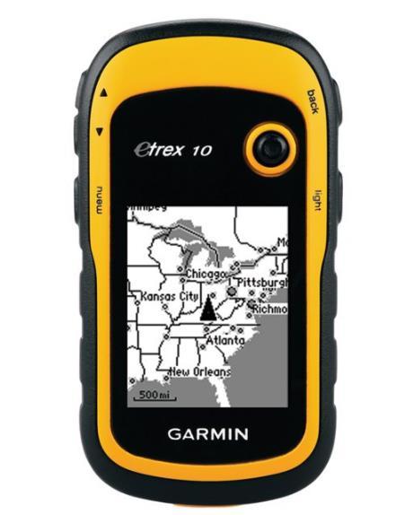 最适合水况GPS 追踪器:Garmin eTrex 10 全球手持 GPS