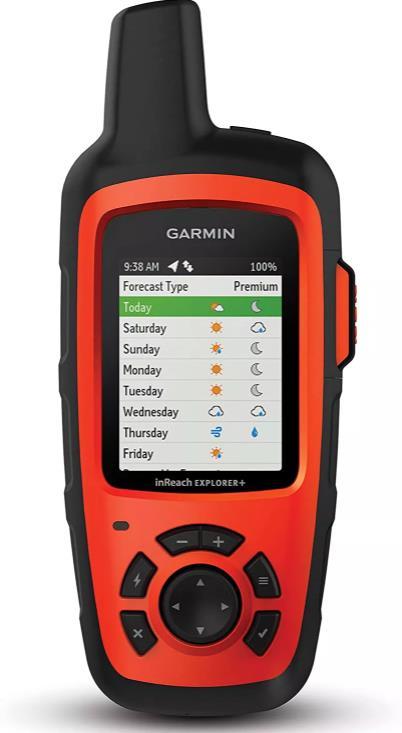 最佳电池寿命GPS 追踪器:Garmin inReach Explorer +