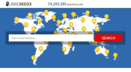 Melhor site de pesquisa de e-mail e diretório de endereços: emailsherlock