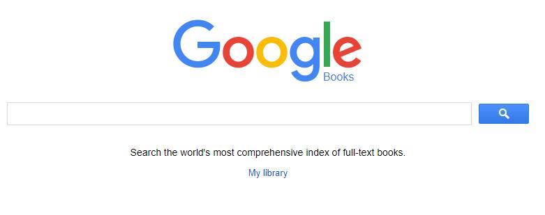 google 图书搜索截图
