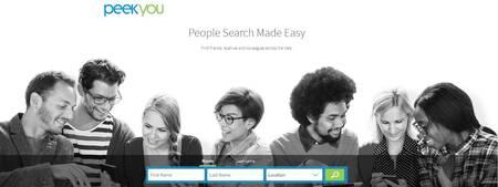 Melhor site de pesquisa de e-mail e diretório de endereços: peekyou