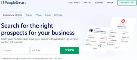 Melhor site de pesquisa de e-mail e diretório de endereços: peoplemart