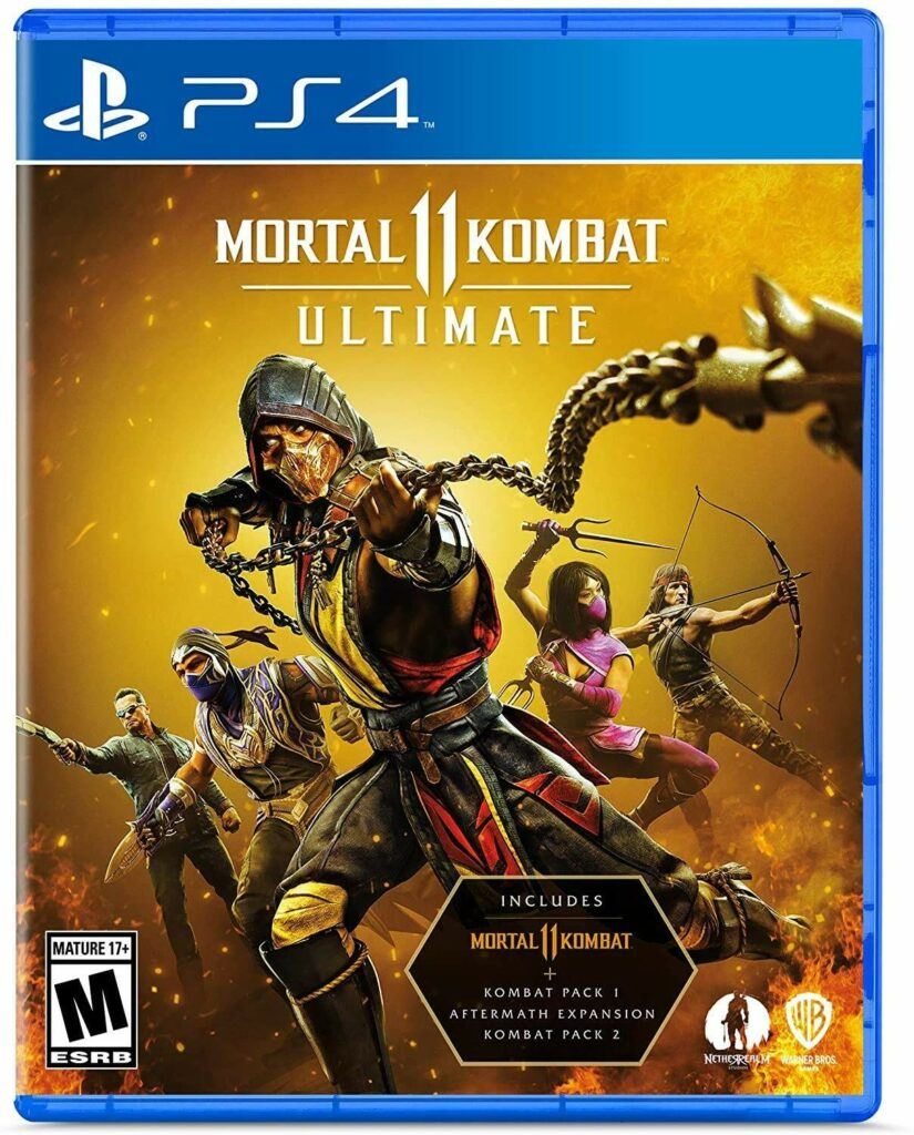 WB Games Mortal Kombat 11 Ultimate (PS4)